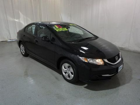 Pre-Owned 2013 Honda Civic 4dr Auto LX FWD LX 4dr Sedan 5A