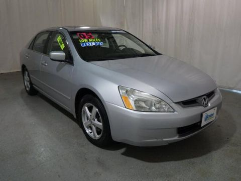 Pre-Owned 2005 Honda Accord EX-L AT FWD 4dr Car
