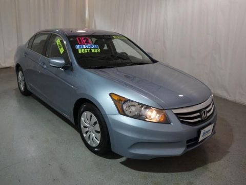 Pre-Owned 2012 Honda Accord 4dr I4 Auto LX FWD 4dr Car