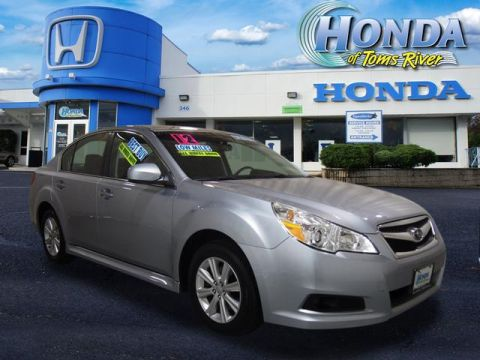 Pre-Owned 2012 Subaru Legacy 4dr Sdn H4 Auto 2.5i PZEV AWD